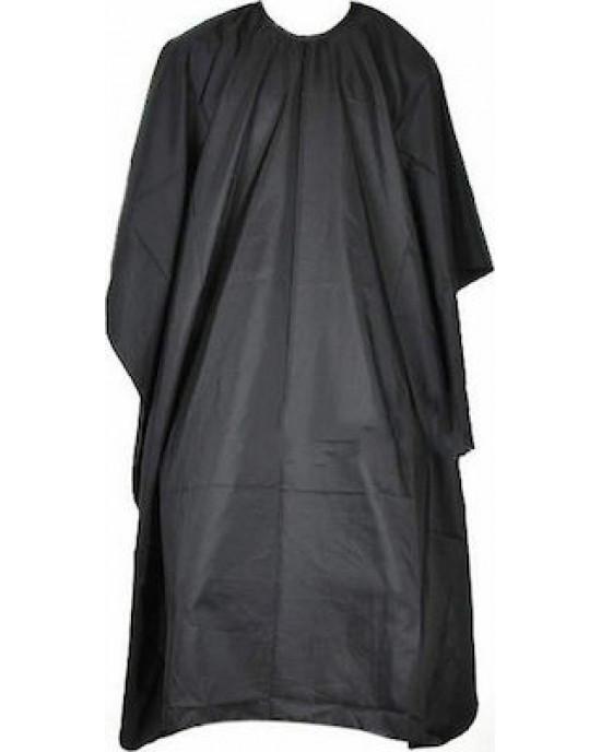 Μπέρτα κουρέματος  Με μεταλλικό κλιπ για κούμπωμα στο λαιμό Χρώμα: μαύρο