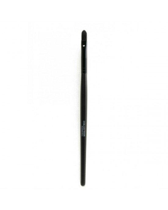 Πινέλο Κραγιόν Κωνικό πινέλο κραγιόν, ιδανικό για να ακολουθεί τις φυσικές γραμμές των χειλιών ακόμα και στις γωνίες. Συμπαγής τελείωμα και χωρίς σκληρότητα συνθετικές τρίχες. Lipstick brush with a tapered shape, ideal to follow the natural lines of the l