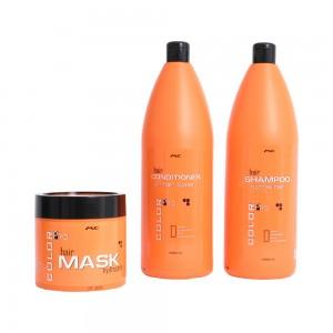 Συνδυασμός shampoo 1000ml  conditioner 1000ml  hair mask 500ml. μοναδική επαγγελματική φόρμουλα που συμβάλλει στην ενυδάτωση και αναδιάρθρωση