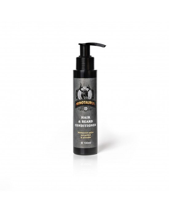 Conditioner για γένια και μαλλιά!!! Πάρτε τον έλεγχο ακόμα και των πιο σκληρών, μπερδεμένων και απείθαρχων τριχών της γενειάδας σας και των μαλλιών σας!!! Η σύνθεση του Minotaurus Beard & Hair Conditioner βελτιώνει την υφή στα ξηρά και σκληρά γένια αφ
