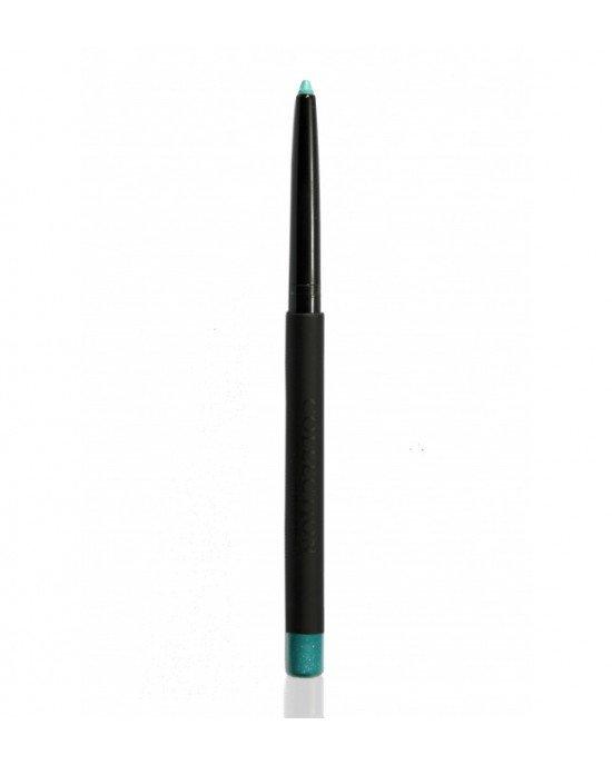Semipermanent EyelinerΕφαρμόστε μολύβι κοντά στη βλεφαρίδα από τη μέση του βλεφάρου στην άλλη άκρη του ματιού. Για ένα πιο έντονο αποτέλεσμα εφαρμόστε και στο κάτω χείλος. Χρησιμοποιήστε το πινέλο n.103. Αφαιρέστε με το ειδικό αφαιρετικό για μάτια και τα