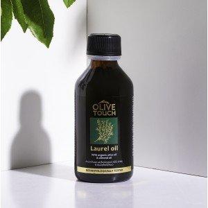 Δαφνέλαιο 100ml που είναι γνωστό για την τονωτική του δράση στα μαλλιά, είναι ιδανικό για πρόβλημα τριχόπτωσης