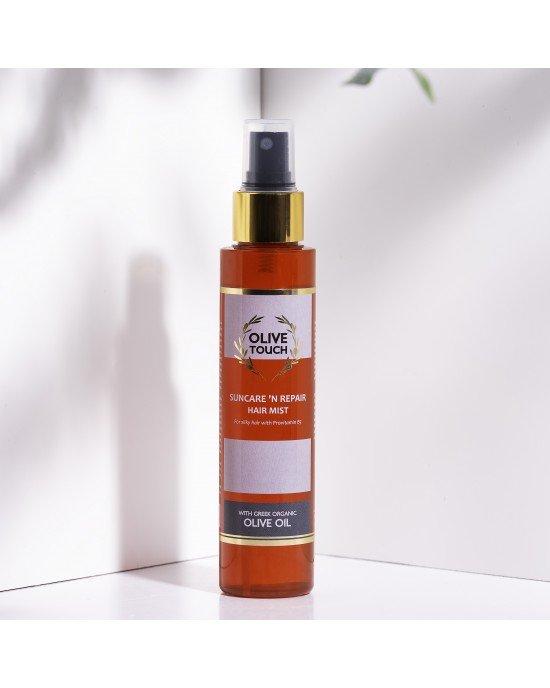 Πακέτo προσφοράς 3+1 δώρο Αντηλιακό Σπρέυ Μαλλιών.Σύνθεση μη λιπαρή για μεταξένια μαλλιά, με προβιταμίνη Β5 και ενυδατικό παράγοντα από λάδι ελιάς. Προσφέρει ενυδάτωση, προστασία και επανόρθωση στα μαλλιά που ταλαιπωρούνται από την έκθεση στον ήλιο, από τ