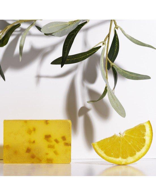 Χειροποίητο Σαπούνι με Βιολογικό Λάδι Ελιάς  Αιθέριο Έλαιο Πορτοκαλιού